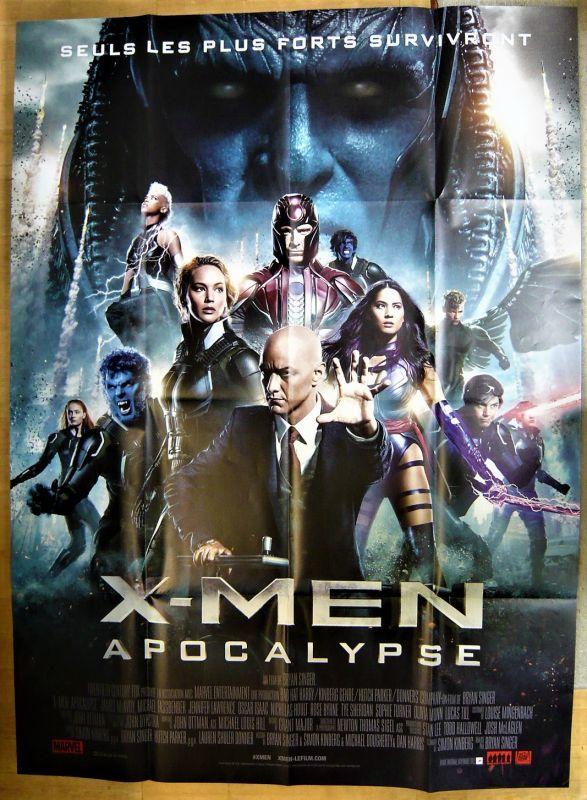 画像1: X-MEN アポカリプス フランス版オリジナルポスター