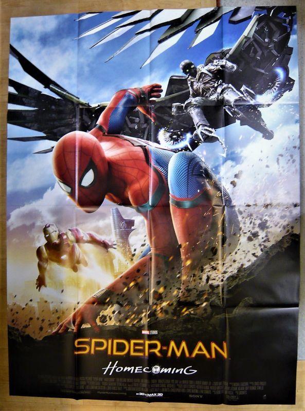 画像1: スパイダーマン:ホームカミング フランス版オリジナルポスター