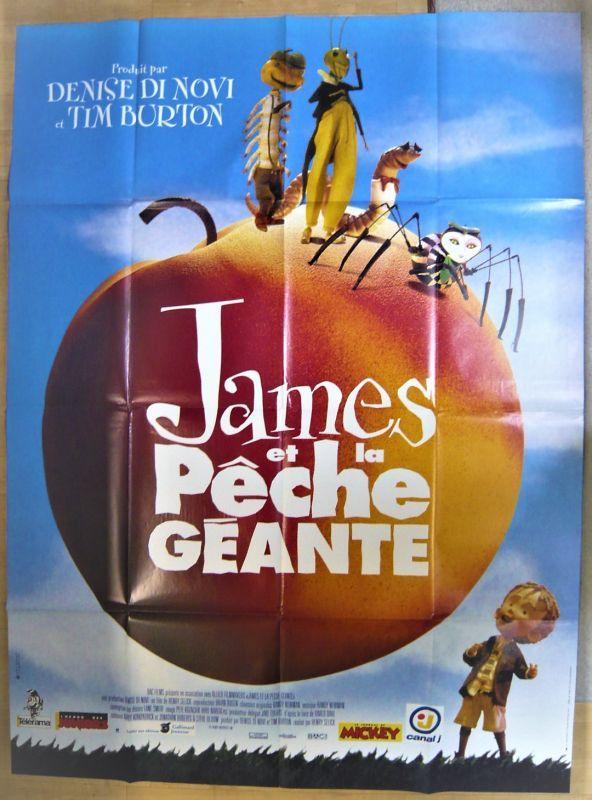 画像1: ジャイアント・ピーチ フランス版オリジナルポスター