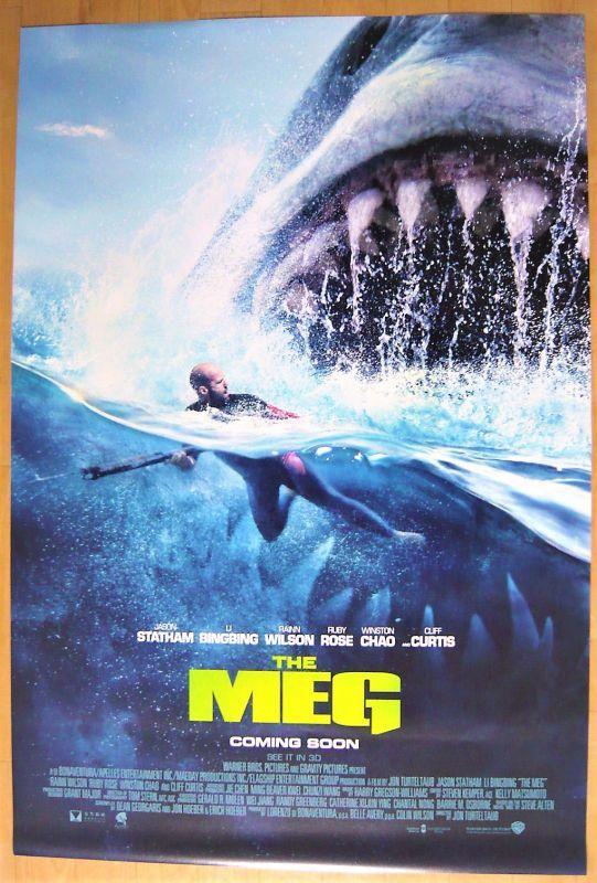 画像1: MEG ザ・モンスター US版オリジナルポスター