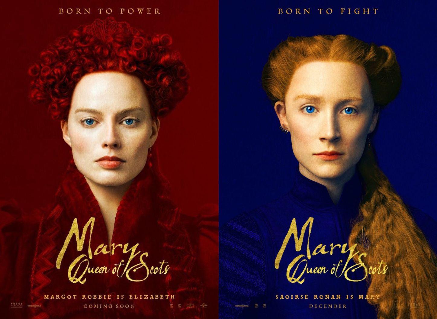 画像1: ふたりの女王 メアリーとエリザベス US版オリジナルポスター 2種セット