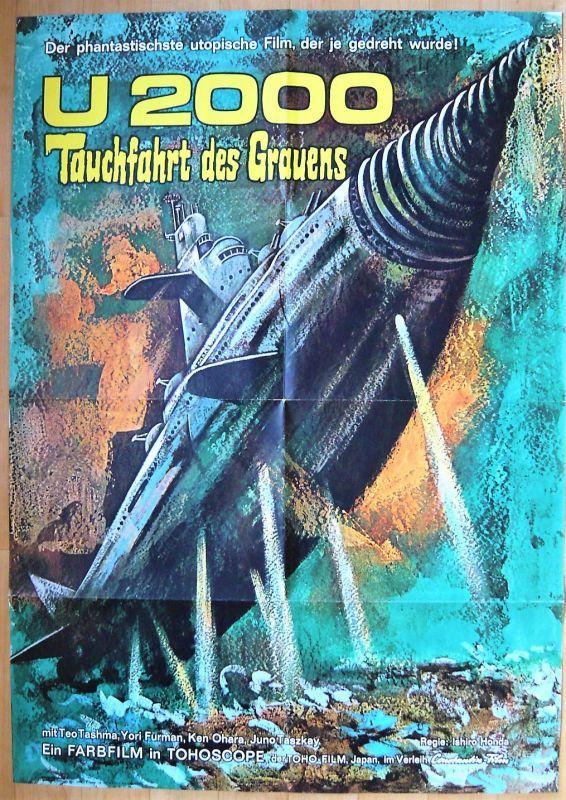 画像1: 海底軍艦 ドイツ版オリジナルポスター