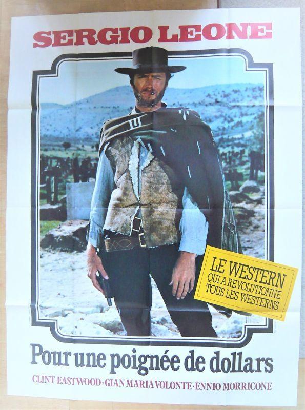 画像1: 荒野の用心棒 フランス版オリジナルポスター