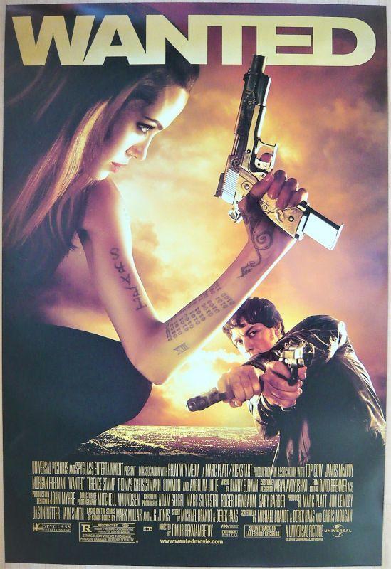画像1: ウォンテッド US版オリジナルポスター
