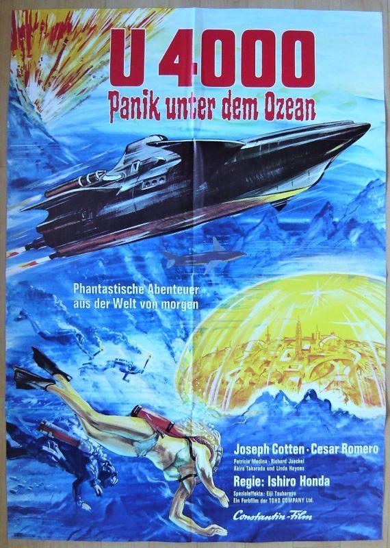 画像1: 緯度0大作戦 ドイツ版オリジナルオリジナルポスター