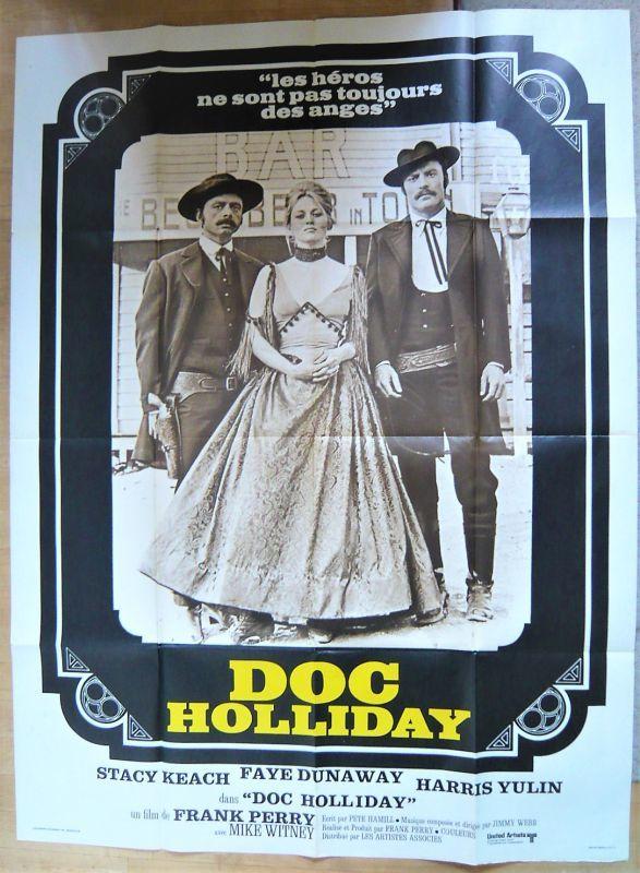 画像1: ドク・ホリディ フランス版オリジナルポスター