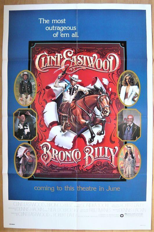 画像1: ブロンコ・ビリー US版オリジナルポスター