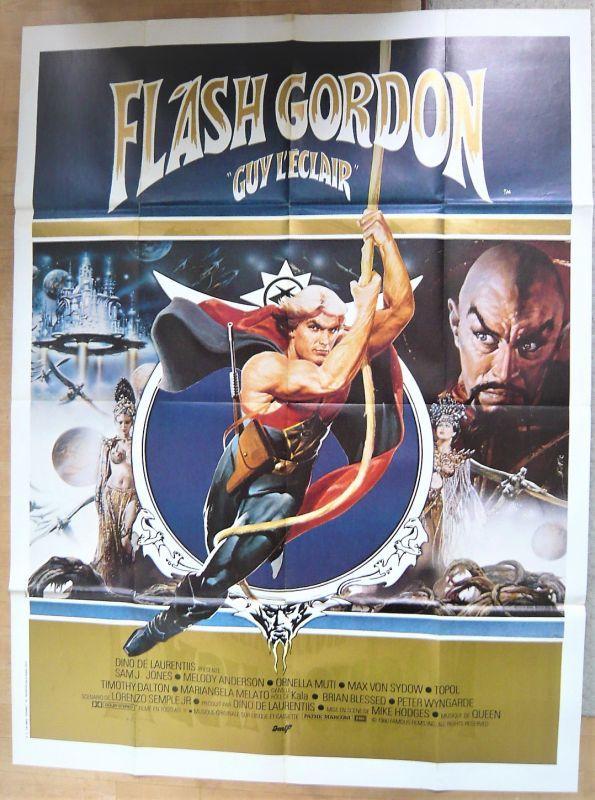 画像1: フラッシュ・ゴードン フランス版オリジナルポスター