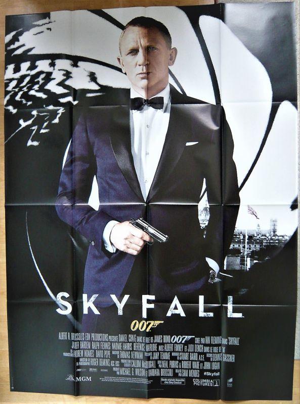 画像1: 007/スカイフォール フランス版オリジナルポスター