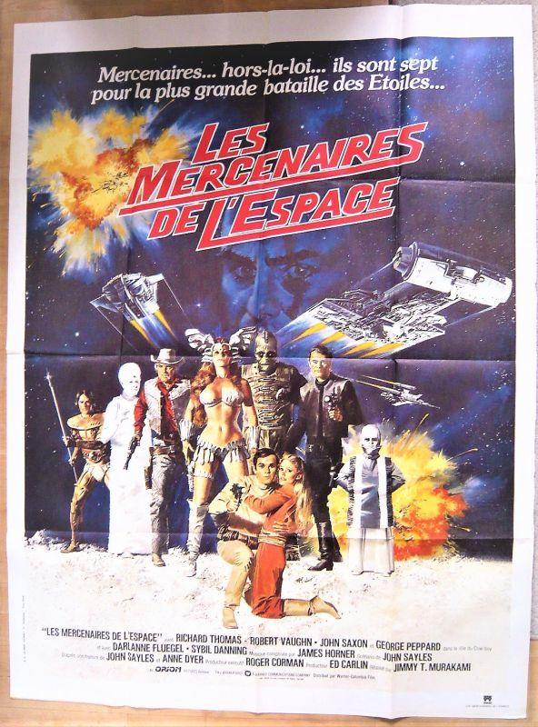画像1: 宇宙の7人 フランス版オリジナルポスター