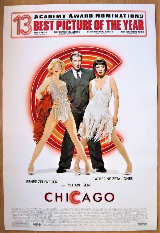 画像1: シカゴ US版オリジナルポスター