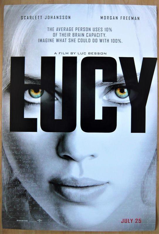 画像1: ルーシー US版オリジナルポスター
