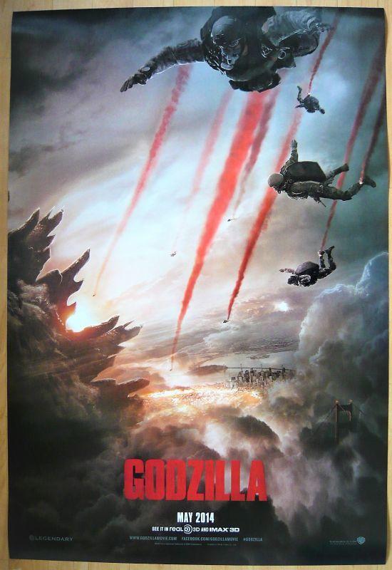 画像1: GODZILLA ゴジラ US版オリジナルポスター