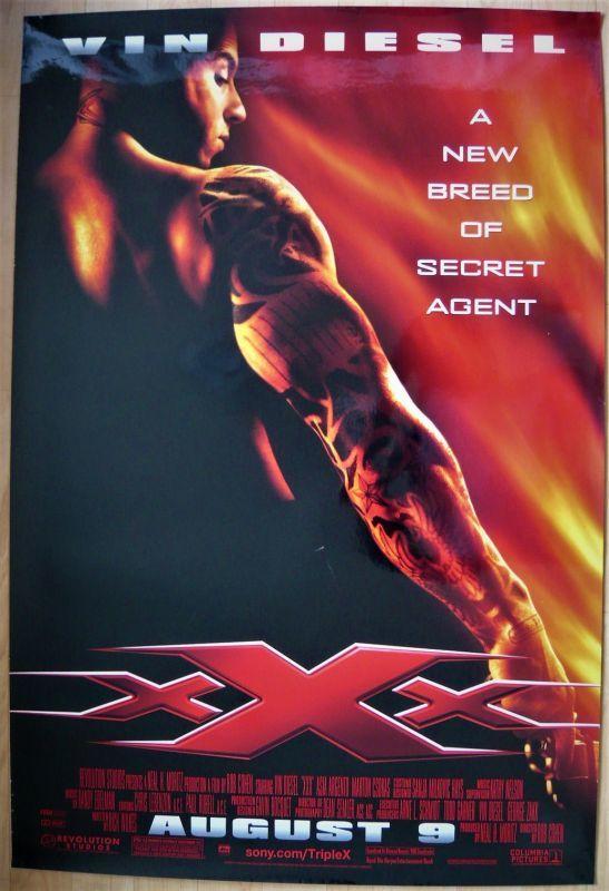 画像1: トリプルX US版オリジナルポスター