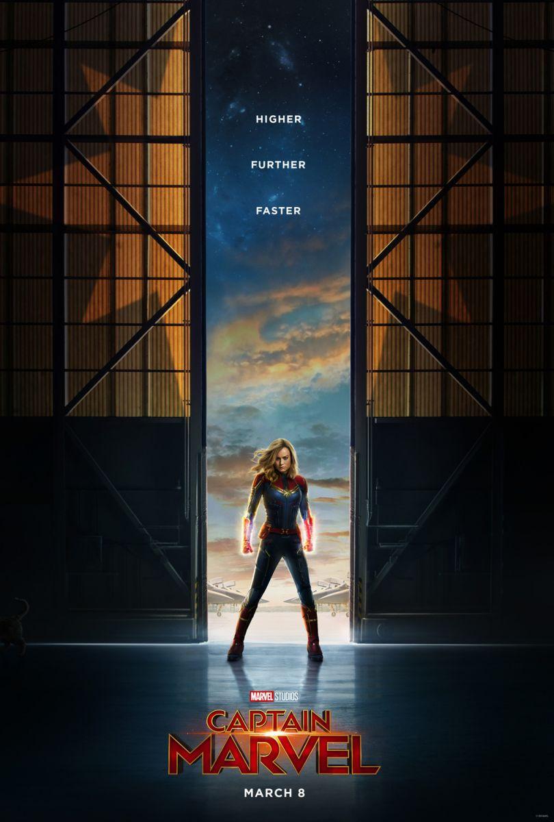 画像1: キャプテン・マーベル US版オリジナルポスター