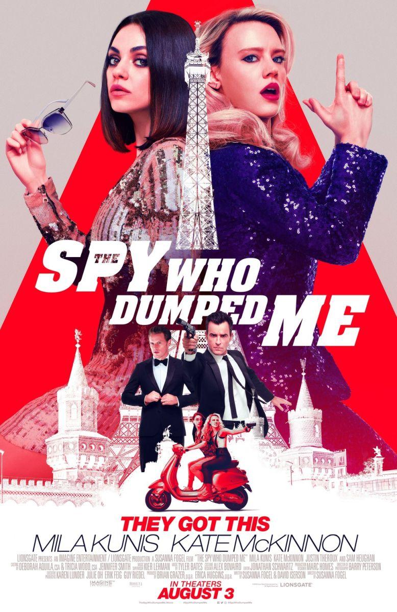 画像1: The Spy Who Dumped Me US版オリジナルポスター