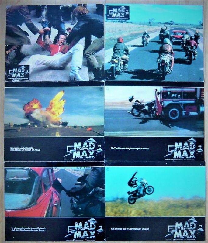 画像2: マッドマックス ドイツ版オリジナルロビーカード