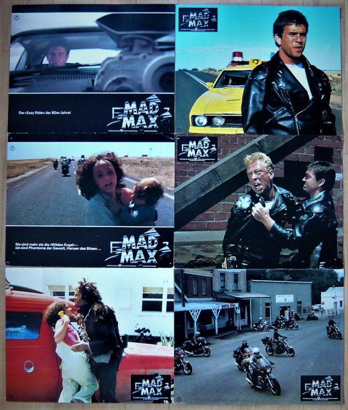 画像1: マッドマックス ドイツ版オリジナルロビーカード