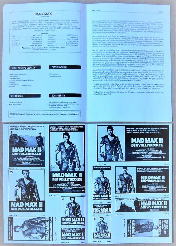 画像4: マッドマックス2 ドイツ版オリジナルプレスブック