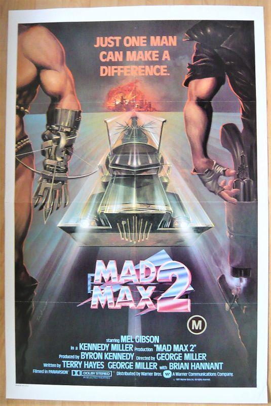画像1: マッドマックス2 US版オリジナルポスター