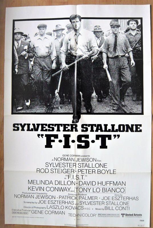画像1: フィスト US版オリジナルポスター
