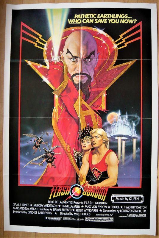 画像1: フラッシュ・ゴードン US版オリジナルポスター
