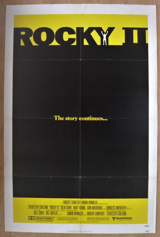 画像1: ロッキー2 US版オリジナルポスター