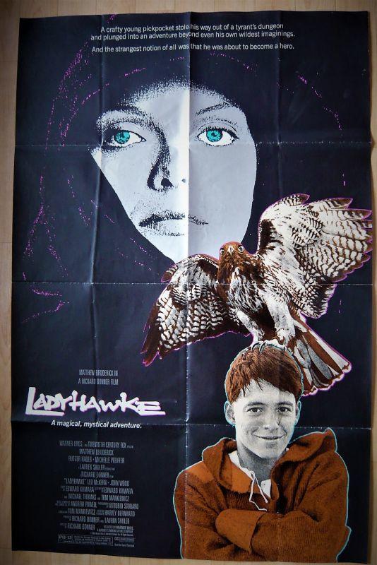 画像1: レディホーク US版オリジナルポスター
