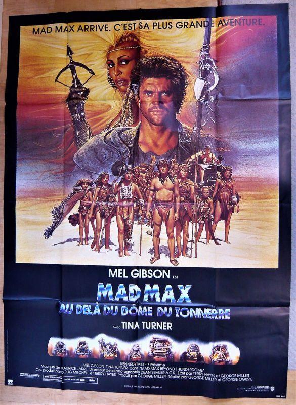 画像1: マッドマックス/サンダードーム フランス版オリジナルポスター