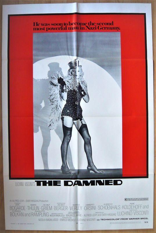画像1: 地獄に堕ちた勇者ども US版オリジナルポスター