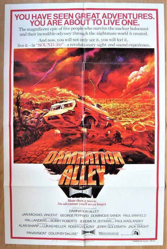 画像1: 世界が燃えつきる日 US版オリジナルポスター