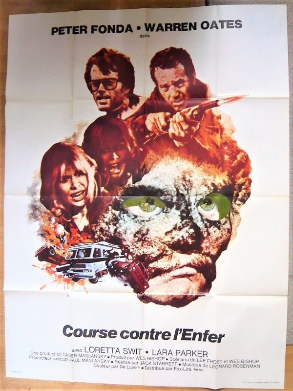 画像1: 悪魔の追跡 フランス版オリジナルポスター