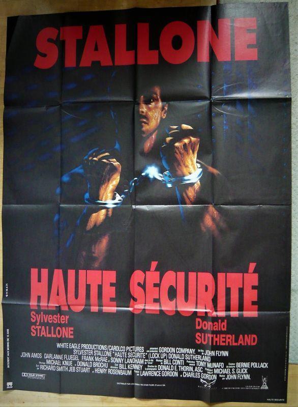画像1: ロック・アップ フランス版オリジナルポスター