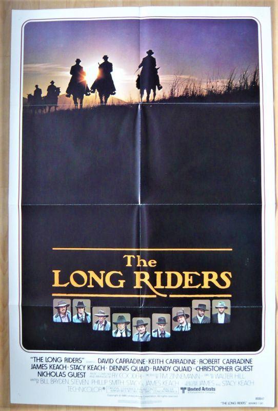 画像1: ロング・ライダーズ US版オリジナルポスター