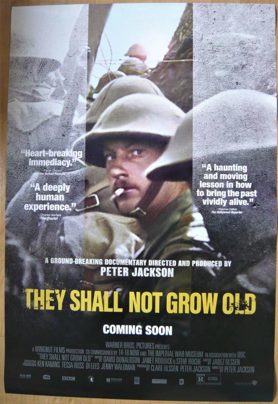 画像1: THEY SHALL NOT GROW OLD  US版オリジナルポスター