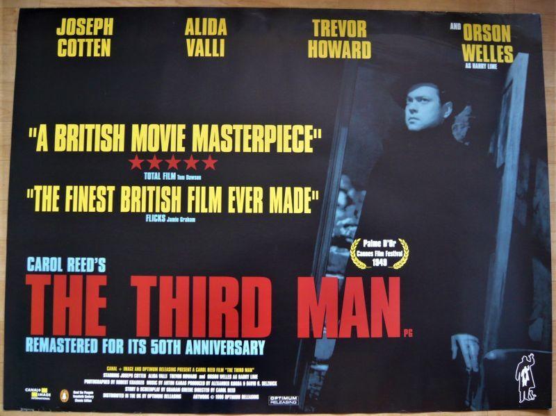 画像1: 第三の男 50th イギリス版オリジナルポスター