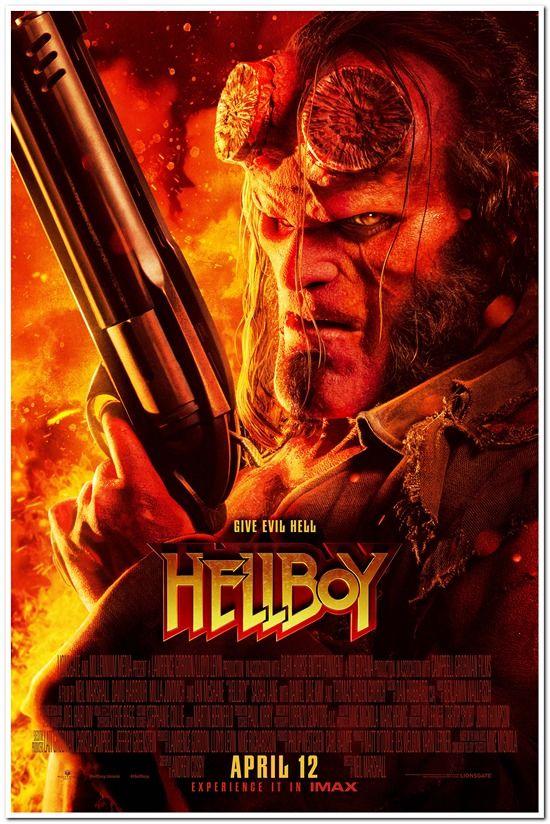 画像1: ヘルボーイ US版オリジナルポスター