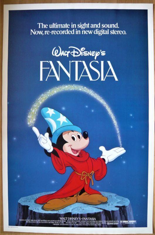 画像1: ファンタジア US版オリジナルポスター