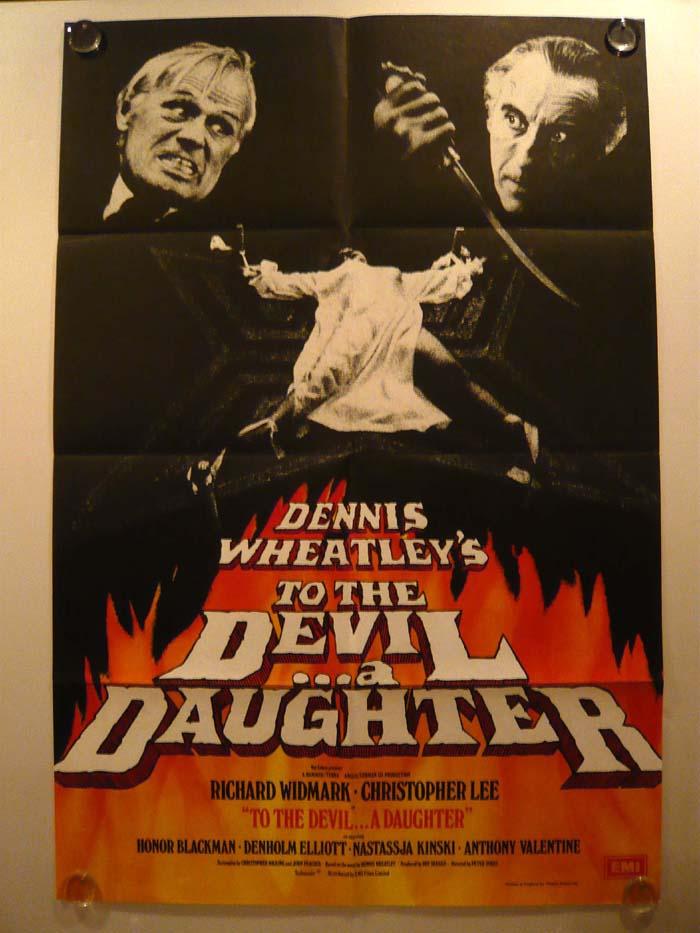 画像1: 悪魔の性キャサリン/TO THE DEVIL・・・A DAUGHTER UK版オリジナルポスター