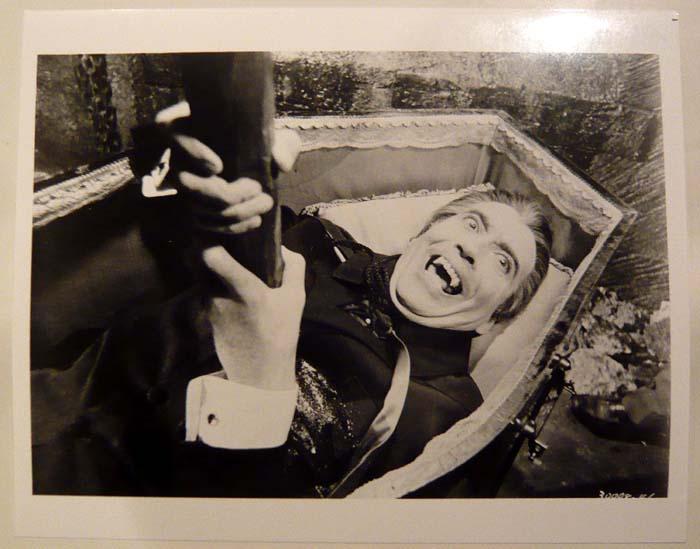 画像1: クリストファー・リー(ドラキュラ) US版オリジナルスチール写真